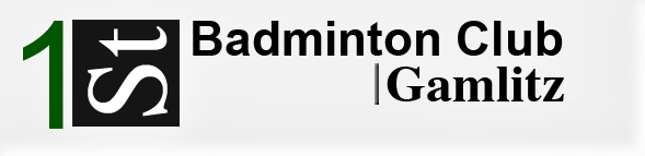 Logo des 1st Badminton Club Gamlitz